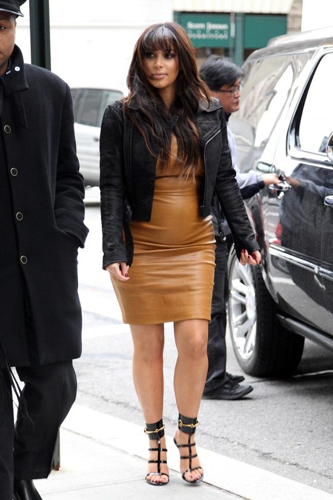 Kim Kardashian's Pregnancy Style Hits and Misses