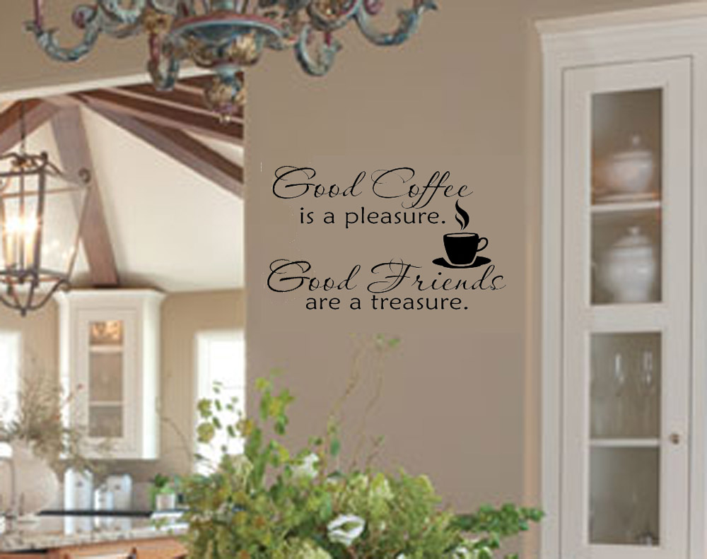 decorating with wall vinyl kitchen wall quotes on sale