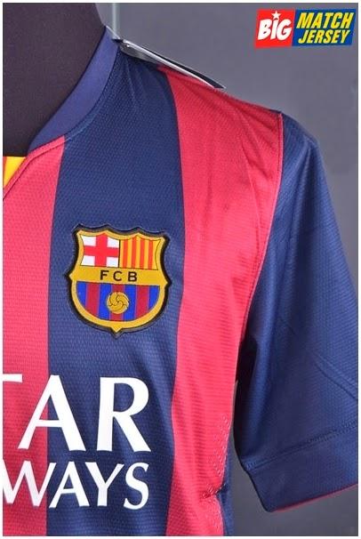 Logo Club Bordir Jersey Player Issue