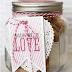 Sevgiliye El Yapımı Aşk Kavanozu