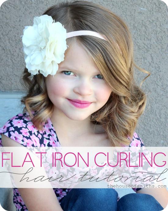 Flat Iron Hair Curling Tutorial My Favorite Hair