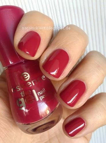 sara lackiert essence true love the gel nail polish. Black Bedroom Furniture Sets. Home Design Ideas
