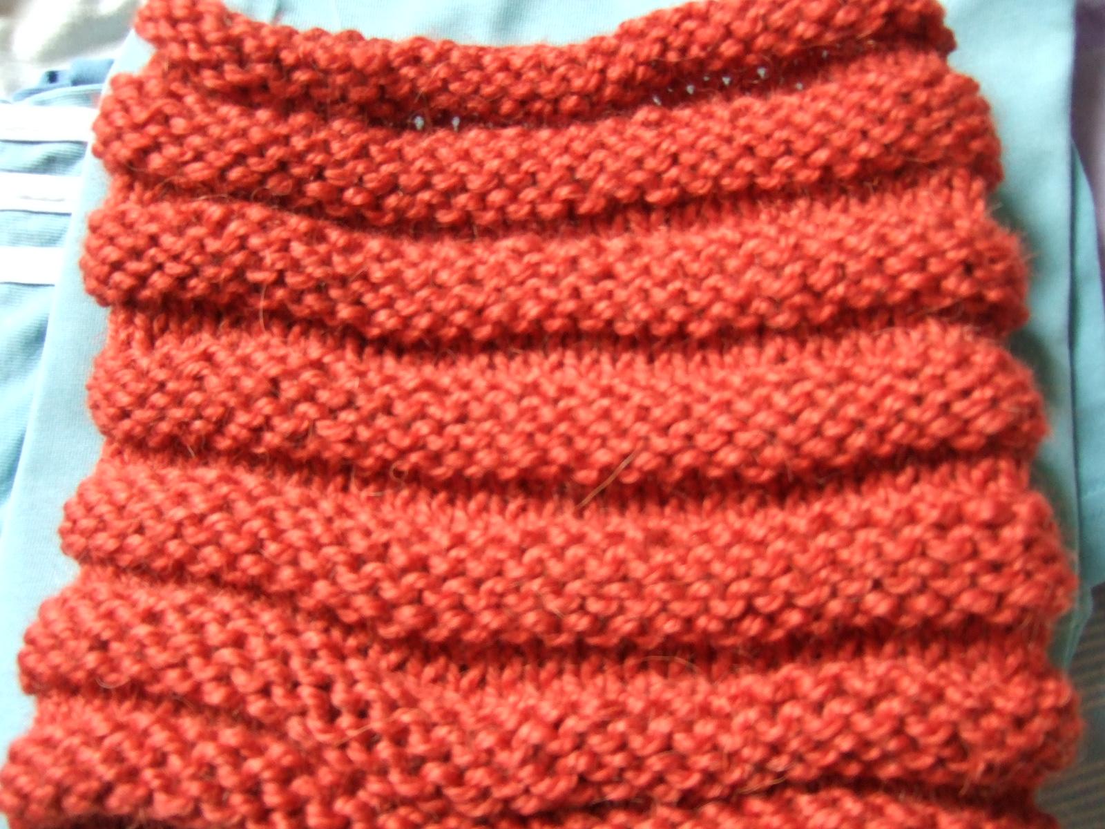 Mis labores cuello de lana para principiantes - Como hacer punto de lana para principiantes ...