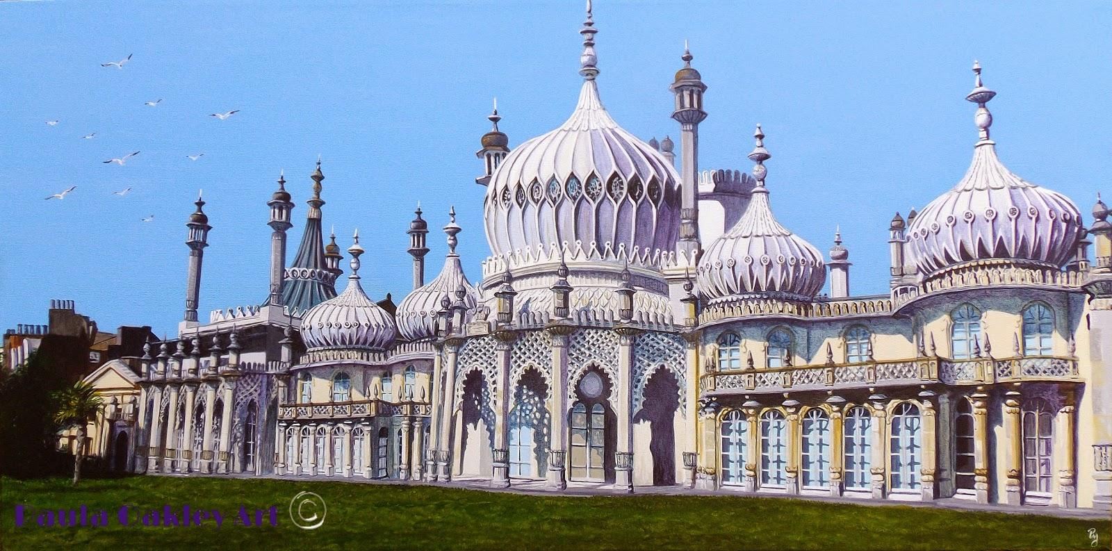 Original Art By Paula Oakley Painting Quot Brighton Pavilion