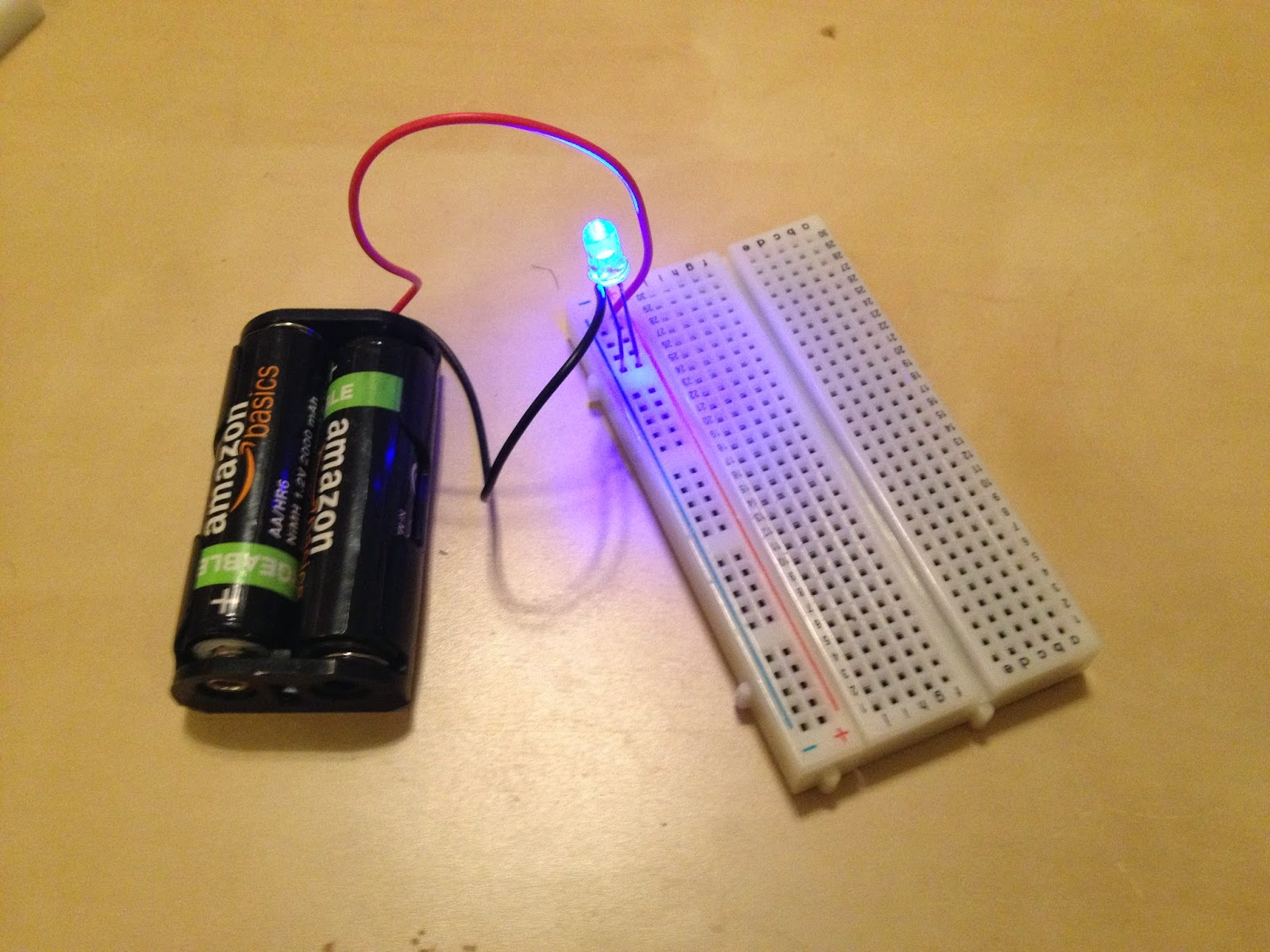 Image result for light up an LED circuit