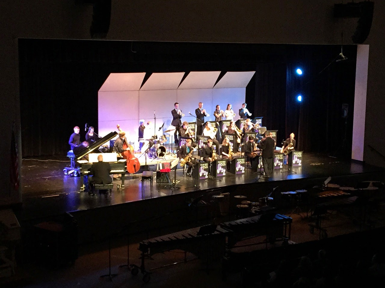 Downers grove north high school bands jazz ensemble and for Interno 1 jazz council