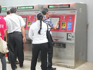Mesin Jual Tiket LRT, Monorel Terima Syiling Baru Bulan Depan