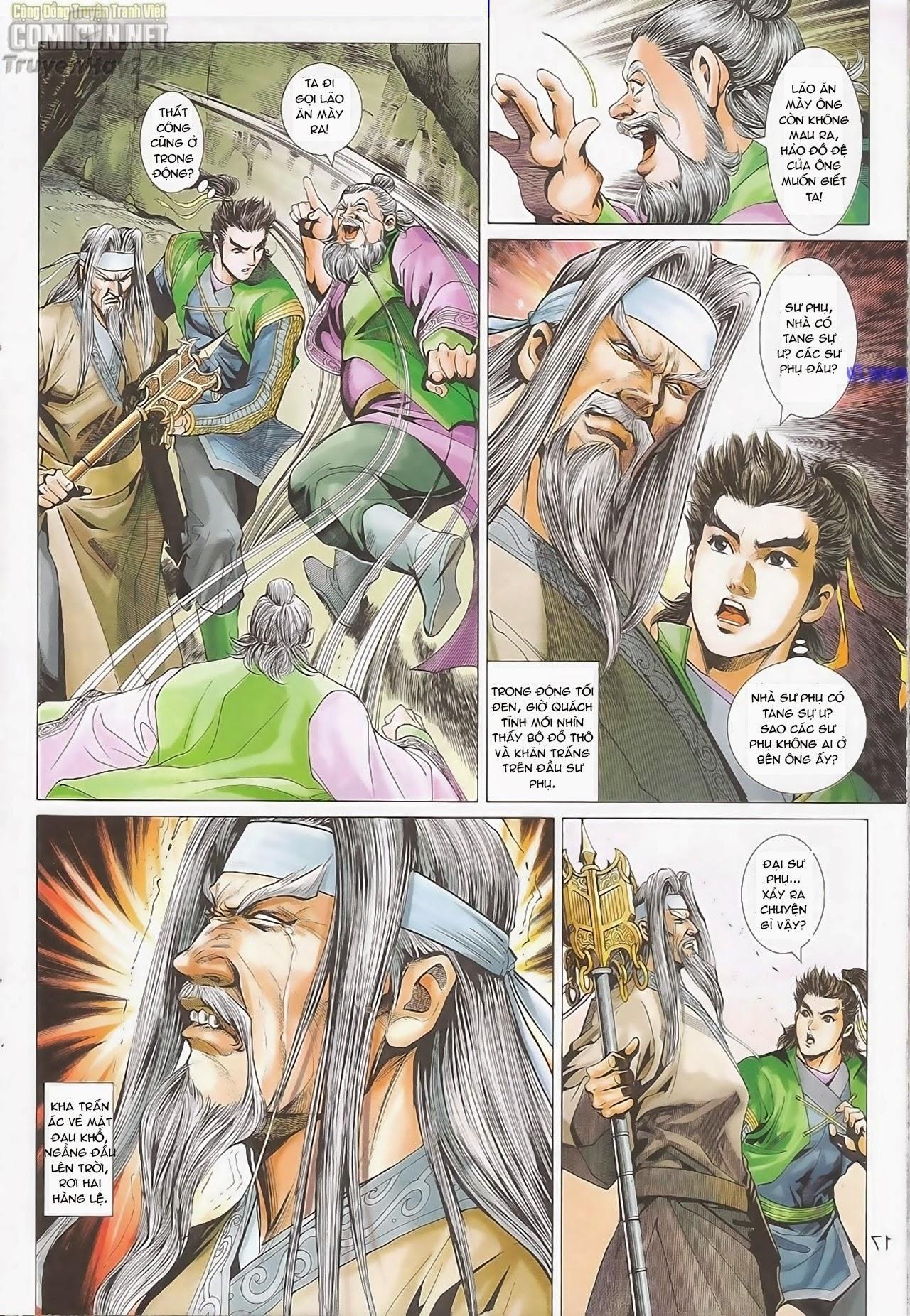 xem truyen moi - Anh Hùng Xạ Điêu - Chapter 83: Sư đồ quyết liệt