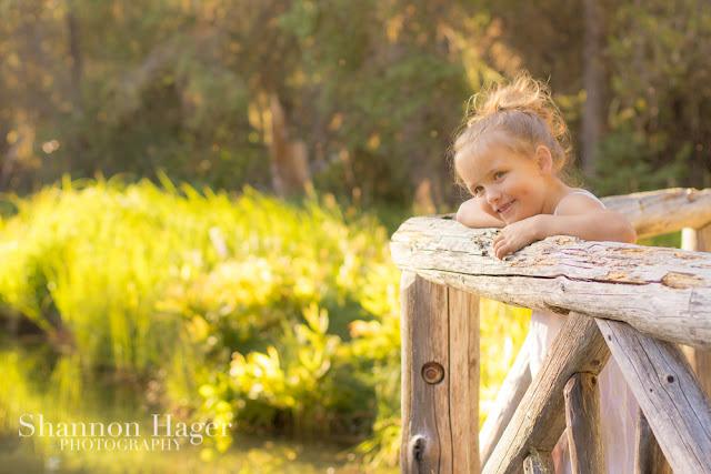 Shannon Hager Photography, Oregon Forest, Sunset Portrait