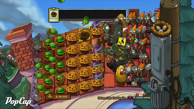 Plants vs. Zombies FREE v1.1.16 Apk +Datos SD [Mega Mod]