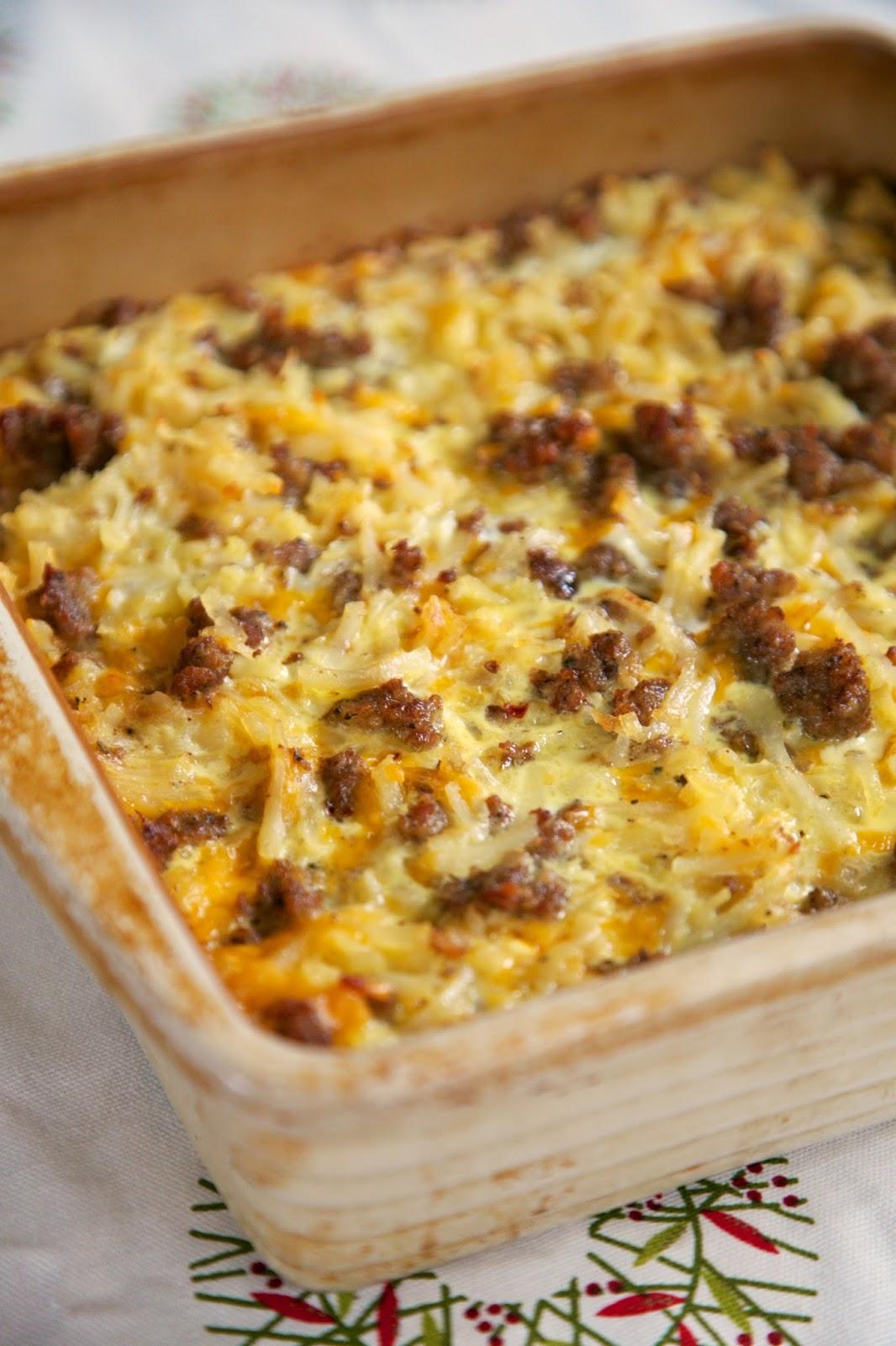Breakfast sausage egg and potato casserole recipes