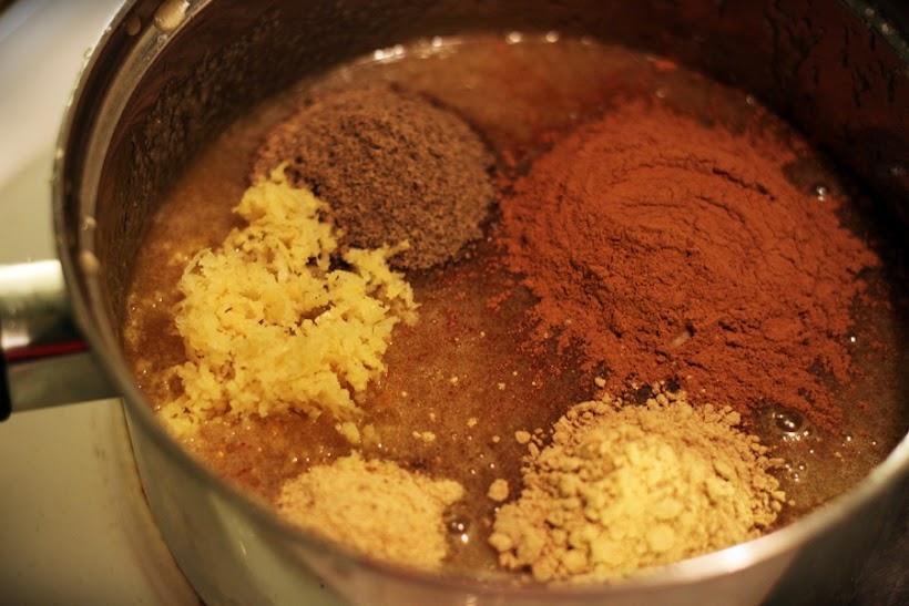 kryddiga pepparkakor