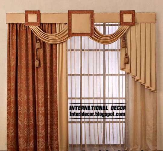 Classic Japanese Curtain Design Ideas 2014