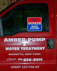 Amber Pump & Water Treatment