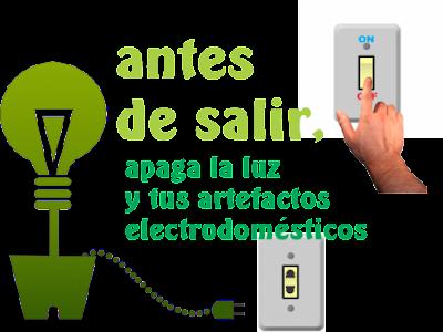 Ahorra energía eléctrica