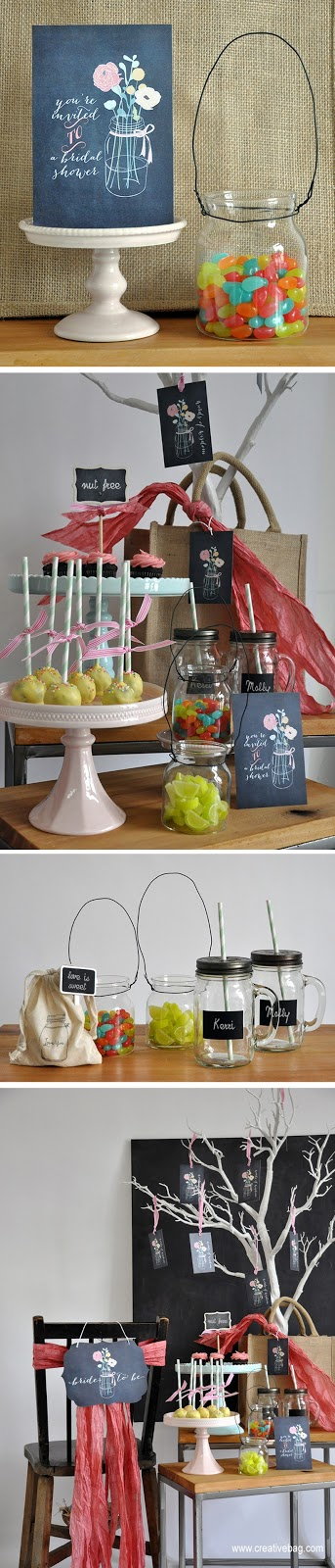 bridal shower ideas from Creative Bag