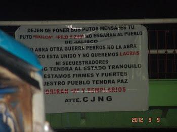 GUERRA DE NARCOMANTAS EN LA ZONA METROPOLITANA