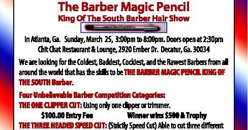 Barber Magic Pencil : Barber Necklace Galleries: Barber Magic Pencil