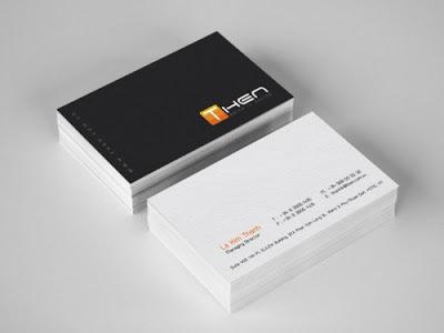 Chuyên In Name Card Giá rẻ