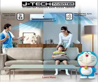 Harga Ac Sharp J-Tech Inverter Terbaru 2015