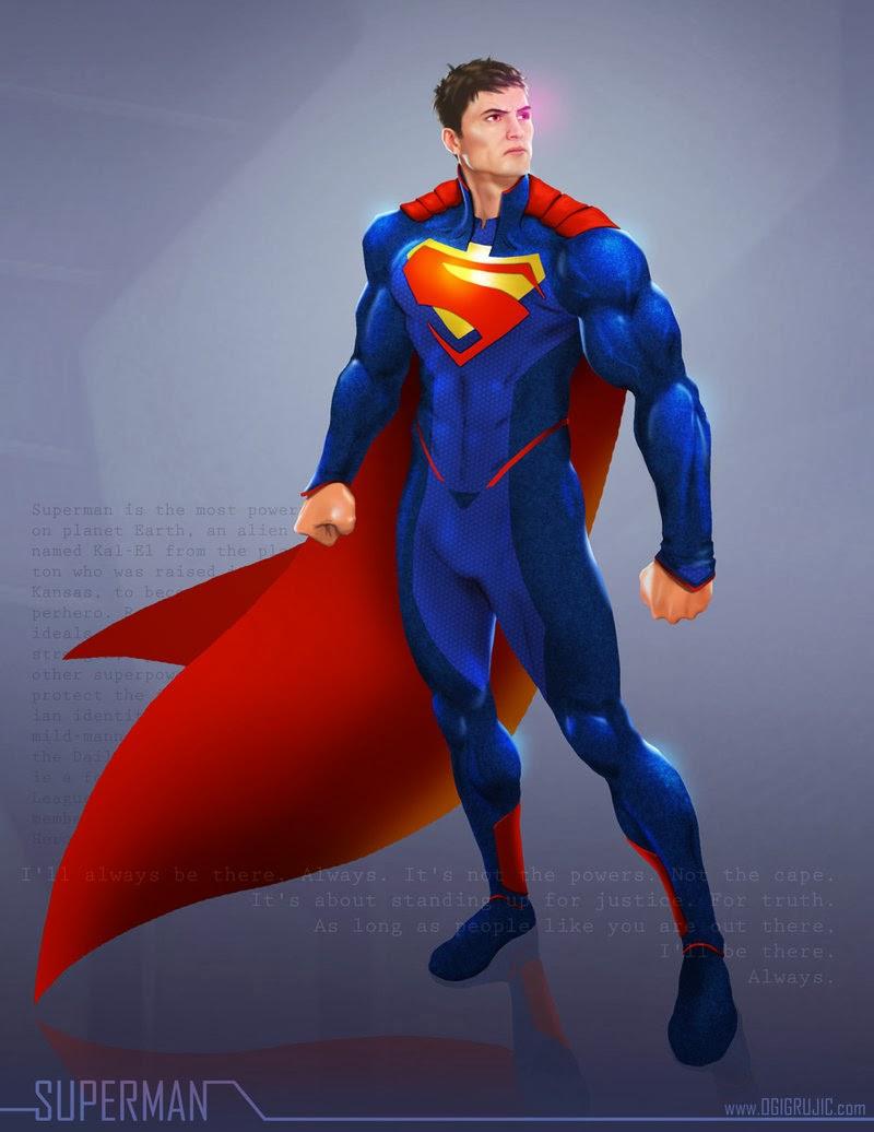 Superman by Ogi Grujic