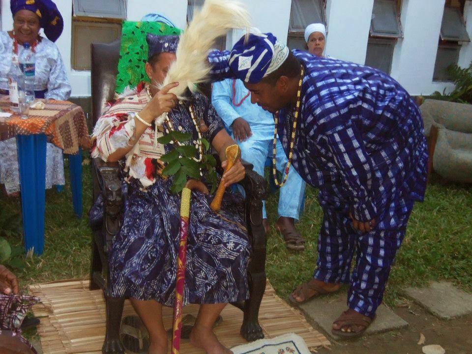 Cerimonia de Oluodé