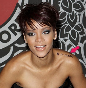 Rihanna Tatto 2011