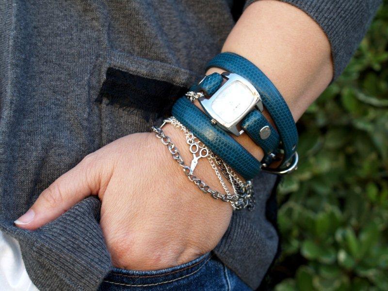 Как из кожи сделать браслет для часов своими руками 12