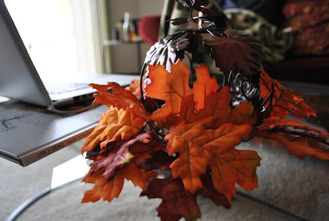 Flashback Summer:  Thanksgiving Festivities!- Fall decor