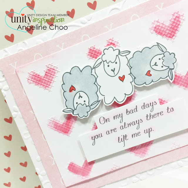 ScrappyScrappy: Lift me up #scrappyscrappy #unitystampco #card #sotw #copic #distress #emboss