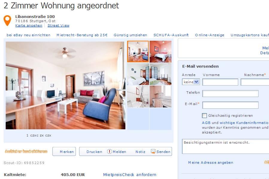 Zimmer Wohnung Stuttgart Ost