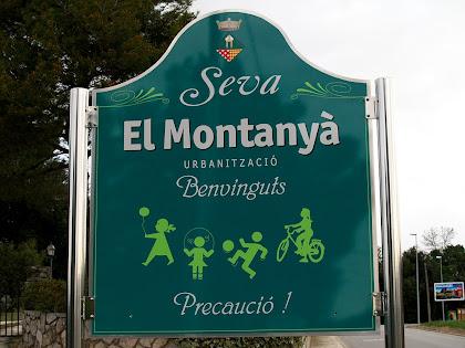 Inici de la urbanització del Montanyà