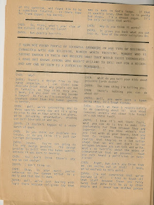 rare, frank zappa, interview, zendik, commune