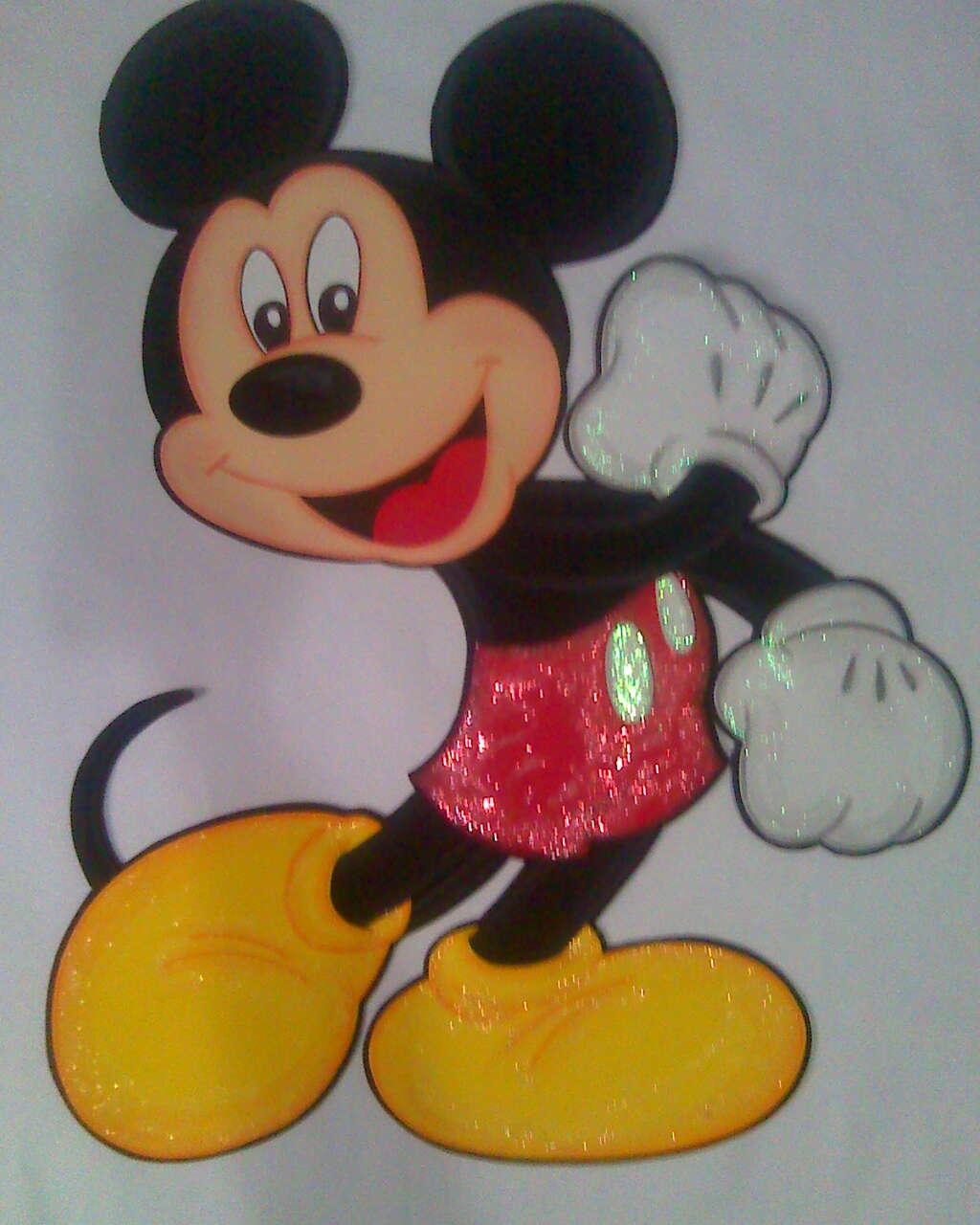 Fomiart: Mickey Mouse en foamy: FOMIART