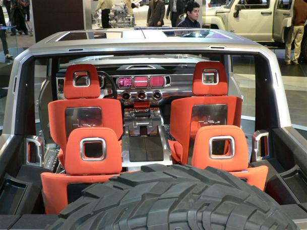 Hummer H4 Inside >> Hummer Hx Concept Review Cars Gallery