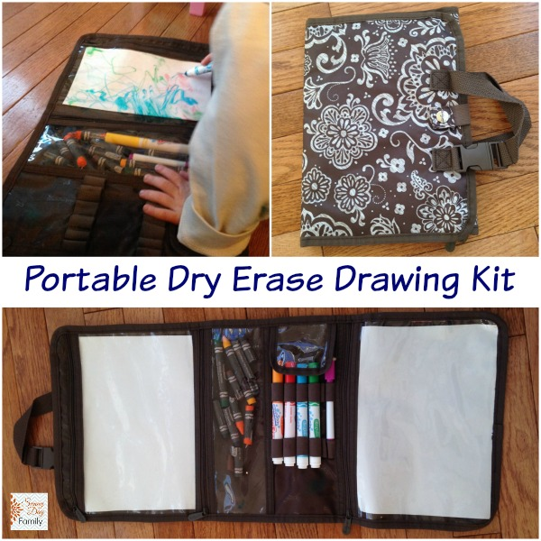 Portable Dry Erase Drawing Kit | Sunny Day Family