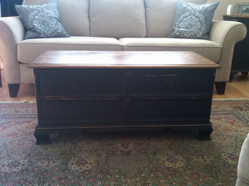 Second Chance Decor Lane Cedar Chest Redone And Another Home Improvement Project
