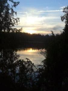Jezioro Fot  Marek Dobrowolski, Jesienne jeziora… - wiersz Jolanty Marii Dzienis