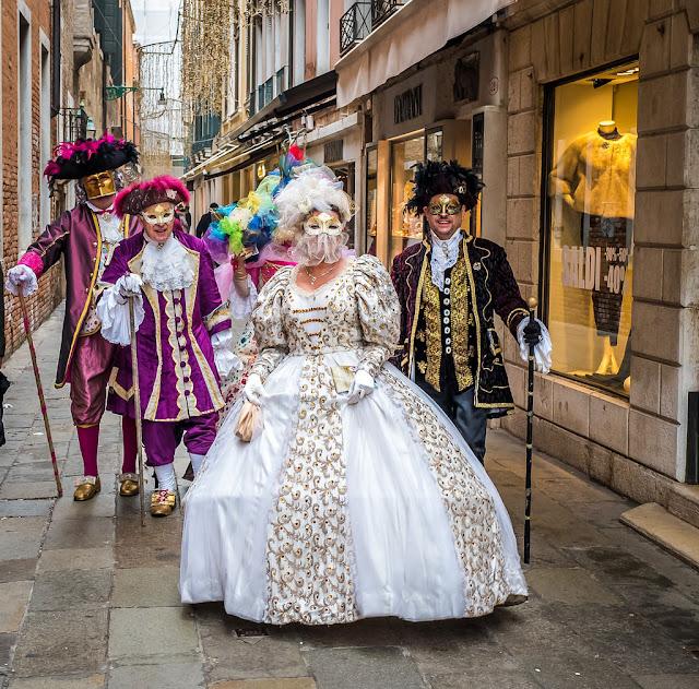 Venice Carnival party, ball