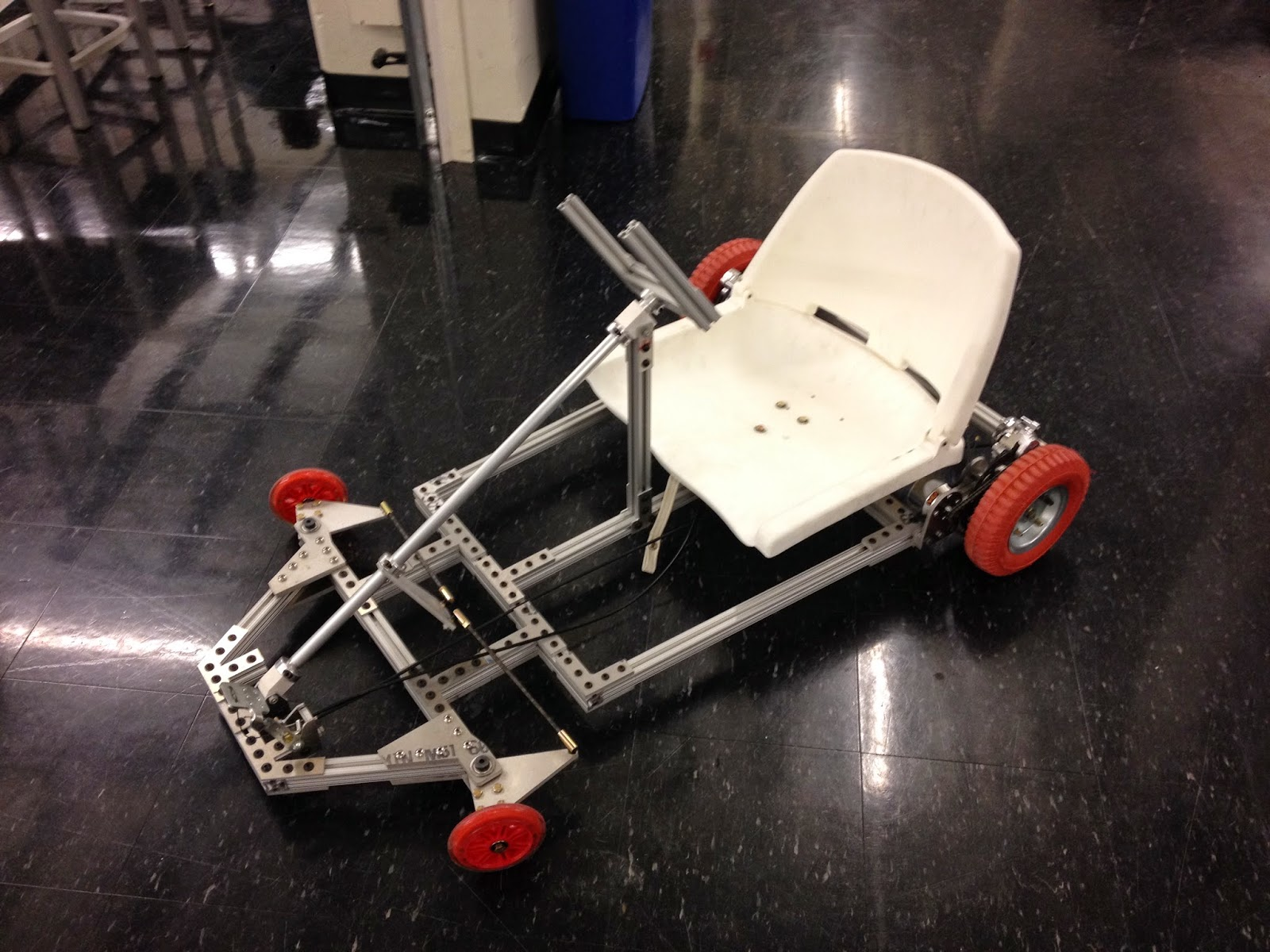 Building An Electric Go-Kart: Rolling Frame