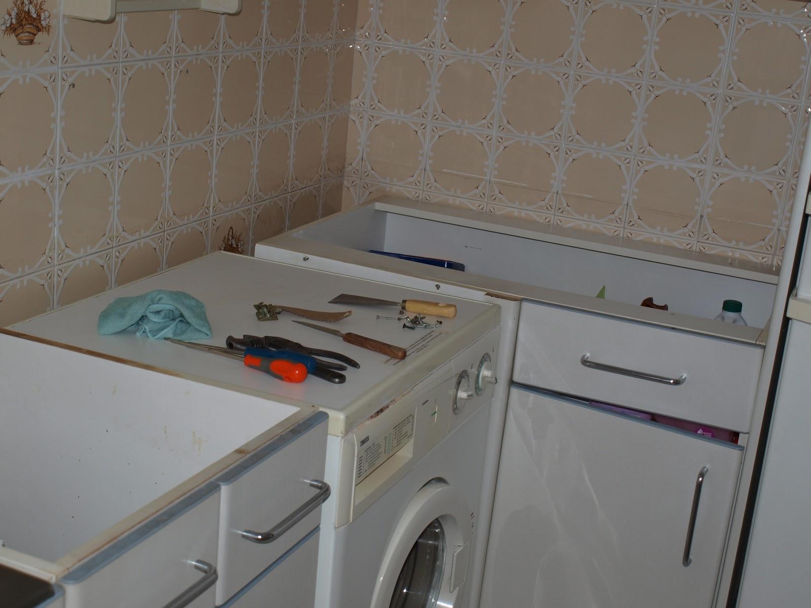El resultado de mi imaginaci n encimera de la cocina 1 parte for Grifo cocina pared 11 cm
