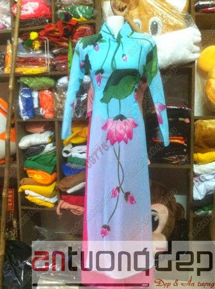may bán trang phục áo dài