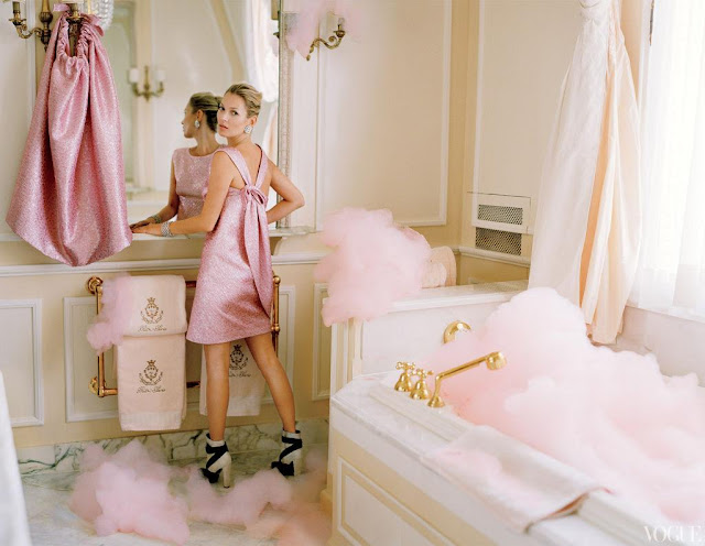Kate Moss, Tim Walker, Vogue US, editorial, The Ritz, Paris, Grace Coddington, Marie Antoinette