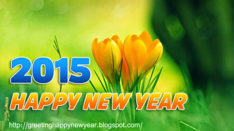 Happy New Year 2015 Roses HD Cards Free Download