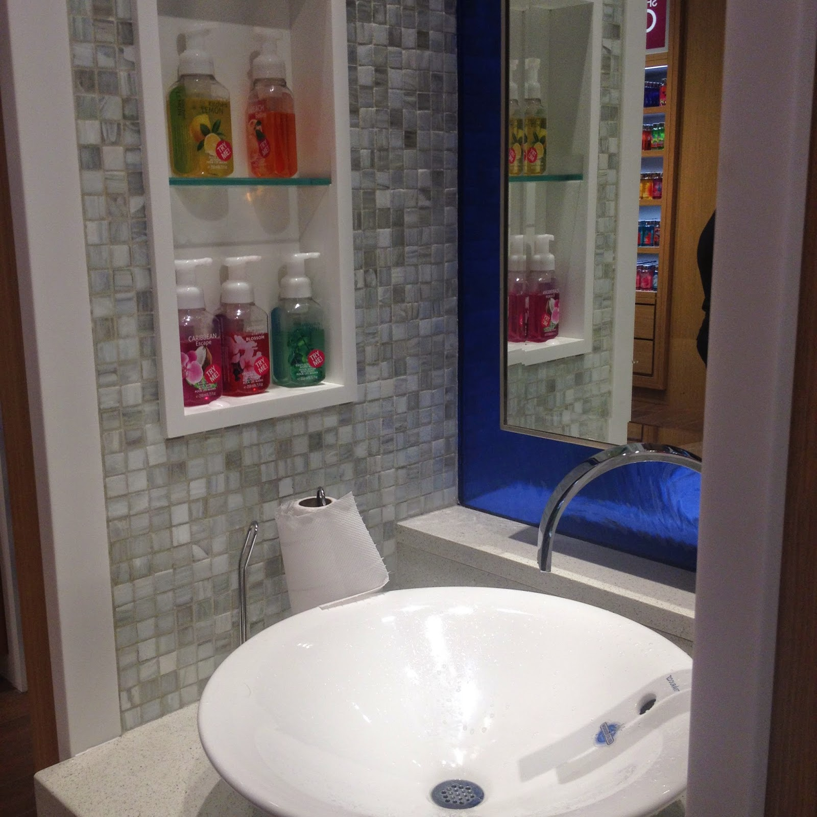 sink with various hand soaps