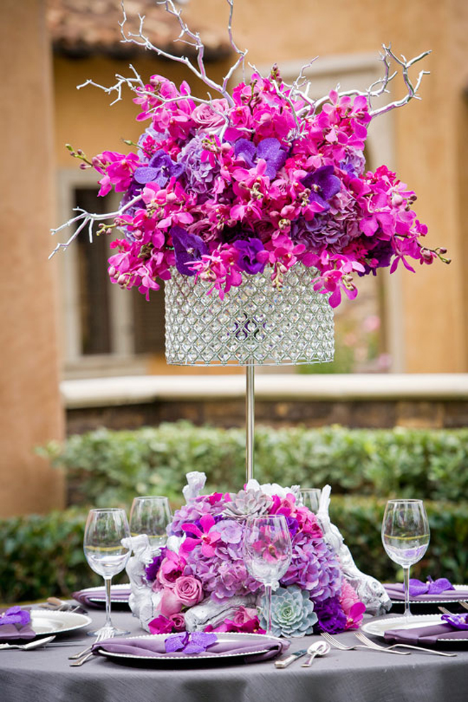 click here to see all the parts of our 25 stunning wedding centerpiece