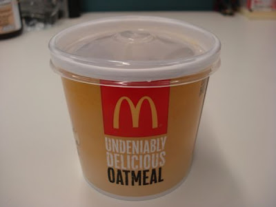 McDonald's Oatmeal Isn't Good For You