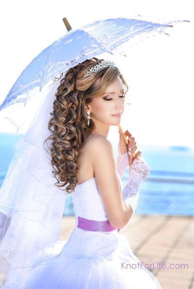 All Stuff Zone: Wedding Hairstyles For Short Hair With Veil And Tiara