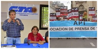Solidaridad y repudio ante despidos en L V 7 radio Tucumán