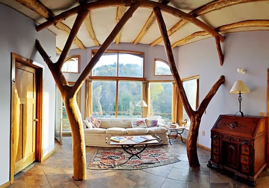 Foundation dezin decor tree house interior design for Sustainable interior design products